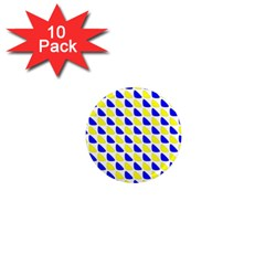 Pattern 1  Mini Button Magnet (10 Pack)