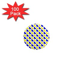 Pattern 1  Mini Button Magnet (100 pack)