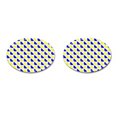 Pattern Cufflinks (Oval)