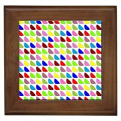 Pattern Framed Ceramic Tile