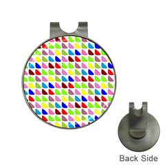 Pattern Hat Clip with Golf Ball Marker