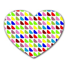 Pattern Mouse Pad (heart)