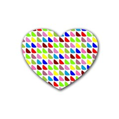 Pattern Drink Coasters 4 Pack (heart)