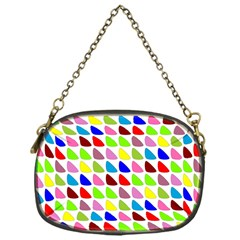 Pattern Chain Purse (One Side)