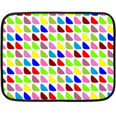 Pattern Mini Fleece Blanket (two Sided)