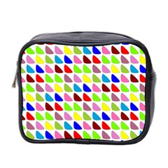 Pattern Mini Travel Toiletry Bag (two Sides)