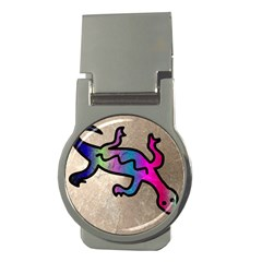 Lizard Money Clip (Round)