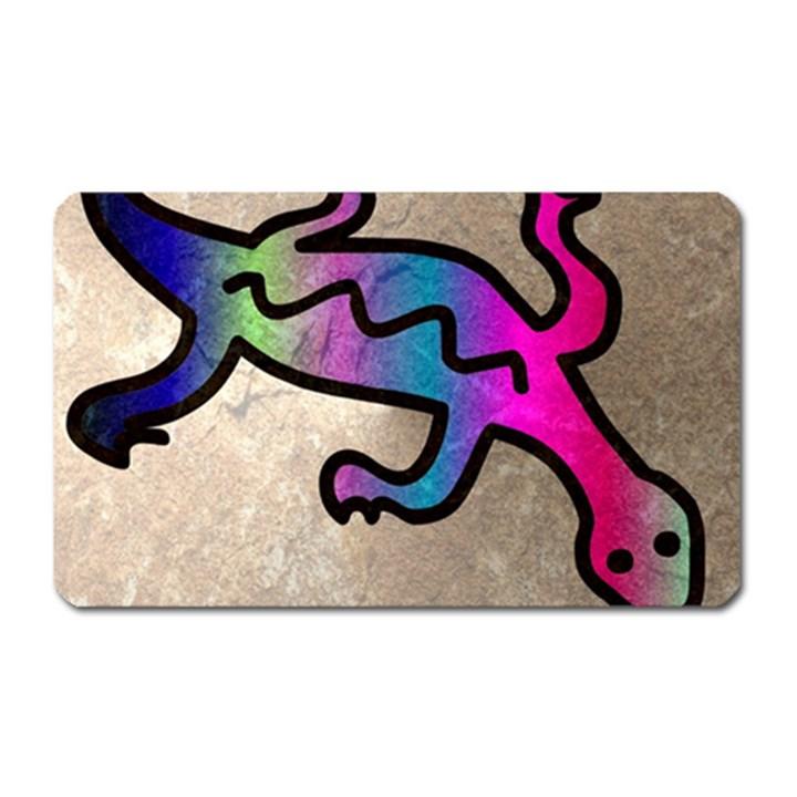 Lizard Magnet (Rectangular)