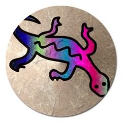 Lizard Magnet 5  (round)