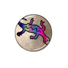 Lizard Golf Ball Marker 4 Pack (for Hat Clip)