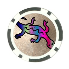 Lizard Poker Chip