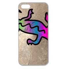 Lizard Apple Seamless Iphone 5 Case (clear)
