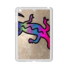 Lizard Apple iPad Mini 2 Case (White)