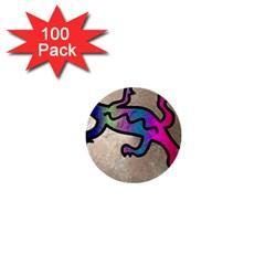 Lizard 1  Mini Button (100 Pack)