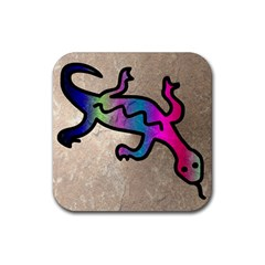 Lizard Drink Coaster (Square)