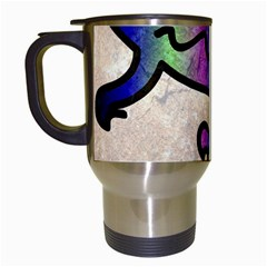 Lizard Travel Mug (White)