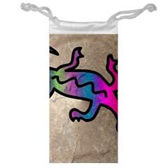 Lizard Jewelry Bag