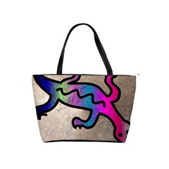 Lizard Large Shoulder Bag