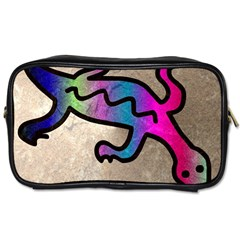 Lizard Travel Toiletry Bag (Two Sides)