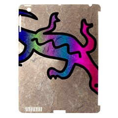 Lizard Apple Ipad 3/4 Hardshell Case (compatible With Smart Cover)
