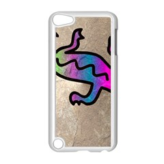 Lizard Apple iPod Touch 5 Case (White)