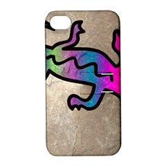 Lizard Apple iPhone 4/4S Hardshell Case with Stand