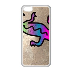 Lizard Apple iPhone 5C Seamless Case (White)