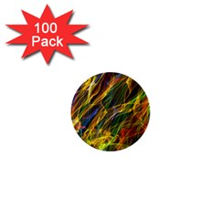 Abstract Smoke 1  Mini Button (100 pack)