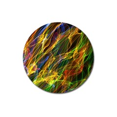 Abstract Smoke Magnet 3  (Round)