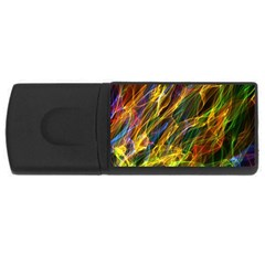 Abstract Smoke 2GB USB Flash Drive (Rectangle)