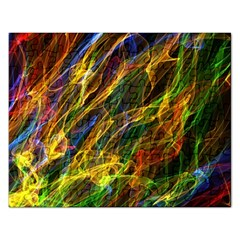 Abstract Smoke Jigsaw Puzzle (rectangle)