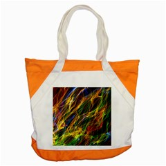 Abstract Smoke Accent Tote Bag