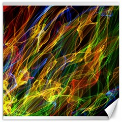 Abstract Smoke Canvas 20  x 20  (Unframed)