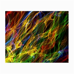 Abstract Smoke Glasses Cloth (Small, Two Sided)