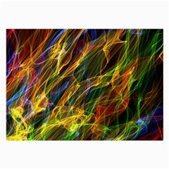 Abstract Smoke Glasses Cloth (Large, Two Sided)