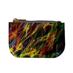 Abstract Smoke Coin Change Purse