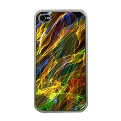 Abstract Smoke Apple Iphone 4 Case (clear)