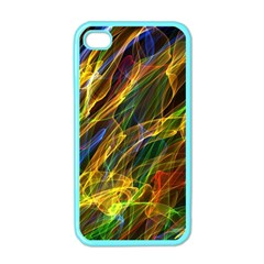 Abstract Smoke Apple Iphone 4 Case (color)