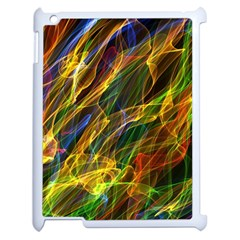 Abstract Smoke Apple iPad 2 Case (White)
