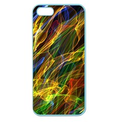 Abstract Smoke Apple Seamless Iphone 5 Case (color)