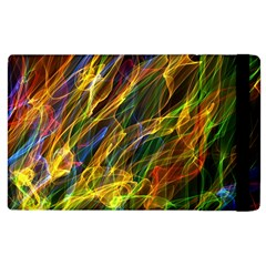 Abstract Smoke Apple iPad 3/4 Flip Case