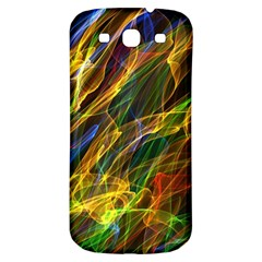Abstract Smoke Samsung Galaxy S3 S Iii Classic Hardshell Back Case