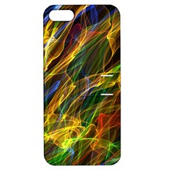Abstract Smoke Apple Iphone 5 Hardshell Case With Stand