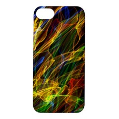 Abstract Smoke Apple iPhone 5S Hardshell Case