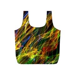 Abstract Smoke Reusable Bag (S)