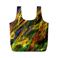 Abstract Smoke Reusable Bag (M)