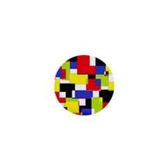 Mod Geometric 1  Mini Button