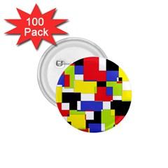 Mod Geometric 1.75  Button (100 pack)