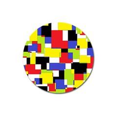 Mod Geometric Magnet 3  (round)