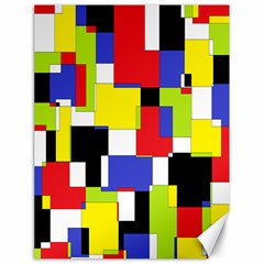 Mod Geometric Canvas 18  x 24  (Unframed)